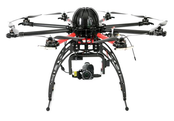 Oktokopter Spy-X8
